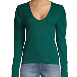 Free People  Hey Lady SZ Small.  Green.  NWT